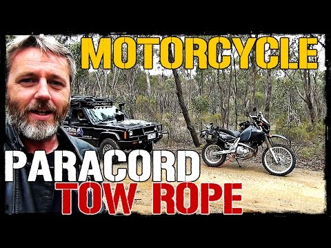 Motorcycle Paracord Tow Rope