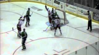 Falcons vs. Whale Highlights Nov. 9, 2012