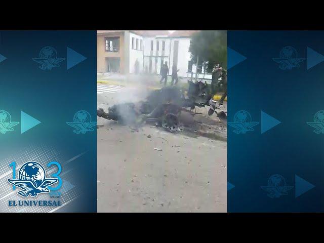 Explosión de carro bomba deja 9 muertos y 54 heridos en Bogotá