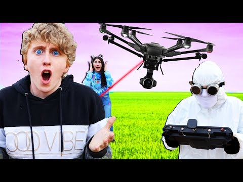 WE FOUND SOMETHING AND WERE CHASED BY A DRONE!