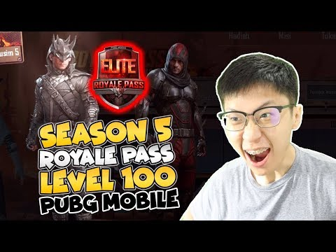 BAKAR UC LAGI! ROYALE PASS SEASON 5 LEVEL 100! EMOTE BISA NGOMONG! - PUBG Mobile Indonesia