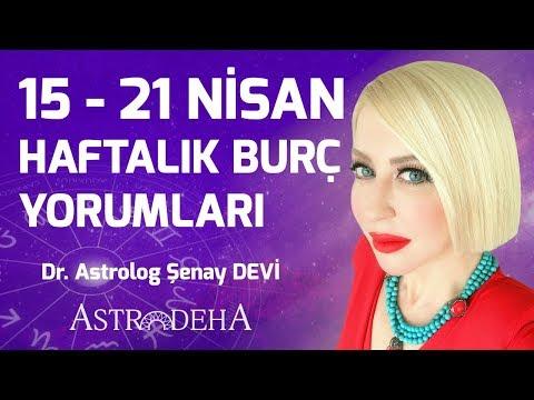 15 - 21 Nisan Haftalık Burç Yorumları - Dr. Astrolog Şenay Devi - Astrodeha