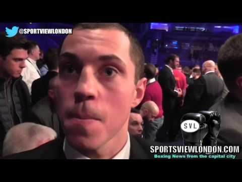 """Scott Quigg Interview in Belfast """"I would go straight into fight with Frampton"""""""