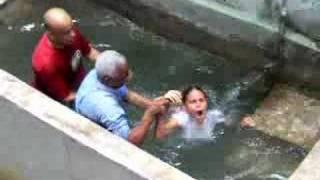 bautismo agua y espíritu