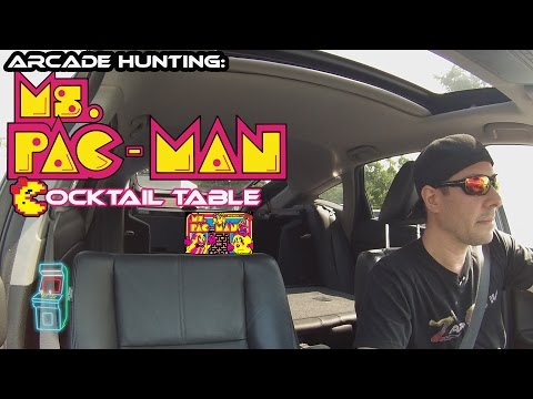 Arcade Hunting:  Ms. Pac-man cocktail pick up!