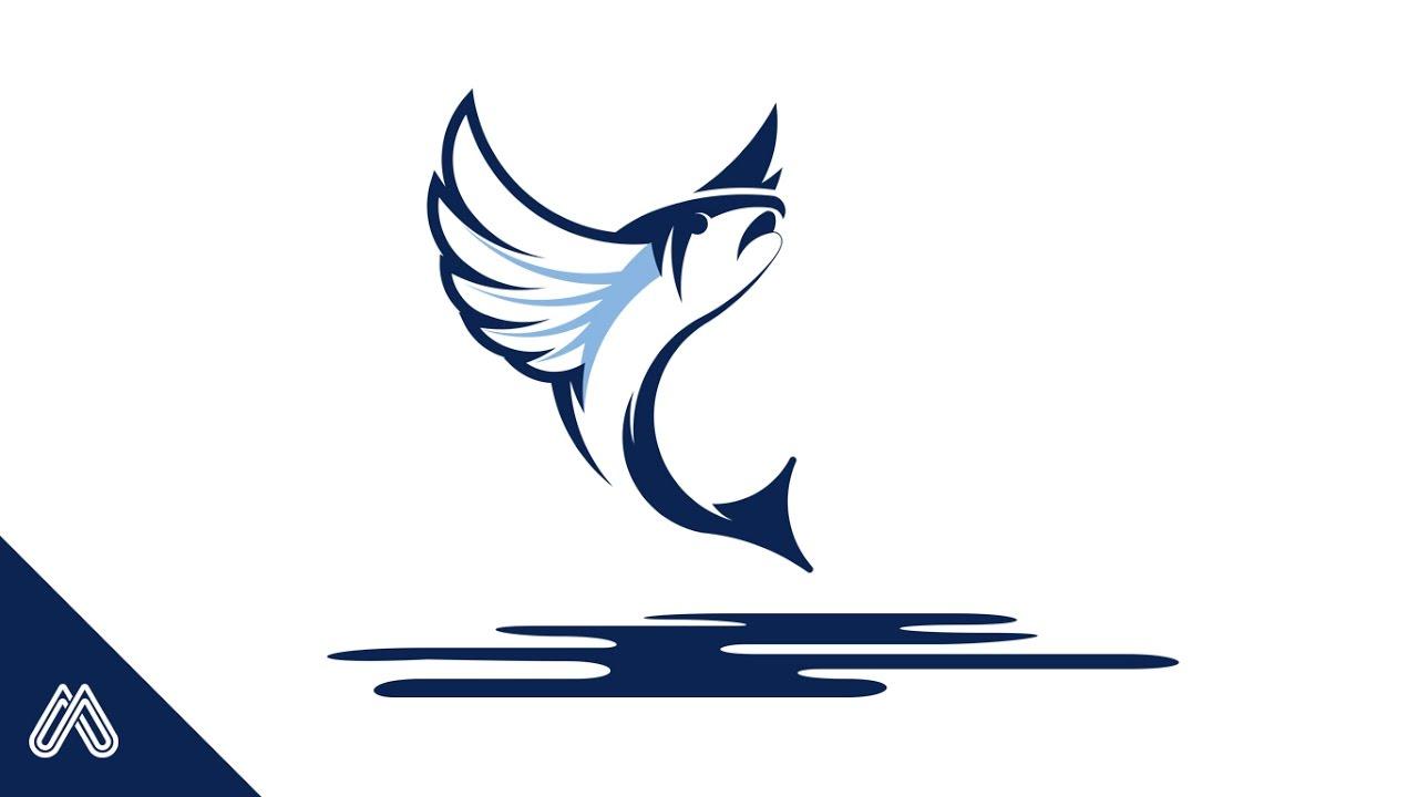 New Custom Made Logo Design Flying Fish 230 Youtube