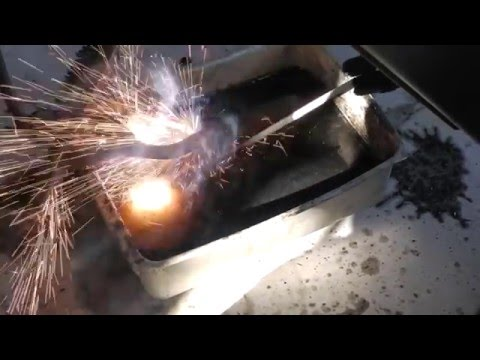 How to weld under water with 1/8 7018