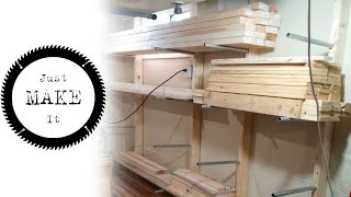 Building A Lumber Rack With Conduit