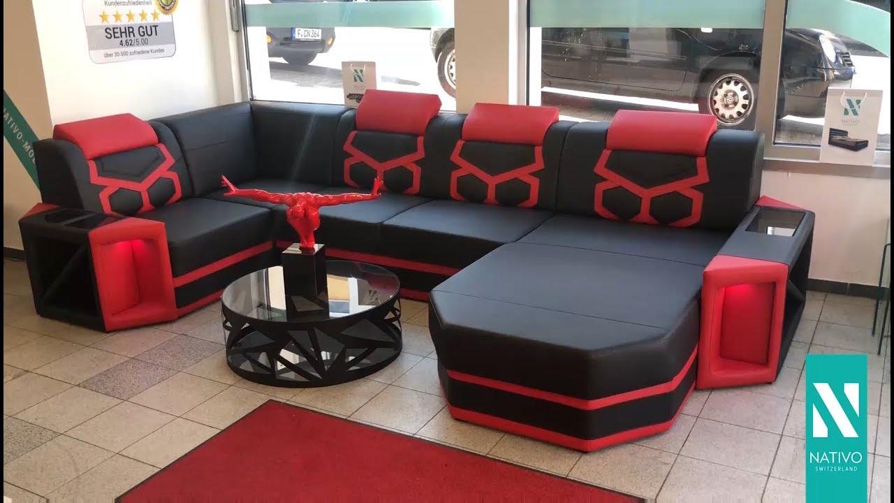 Möbel Schweiz Sofa Mobel Details Zu Wohnlandschaft Claudia Xxl