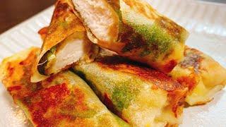 梅しそチーズささみ春巻き こっタソの自由気ままに【Kottaso Recipe】さんのレシピ書き起こし