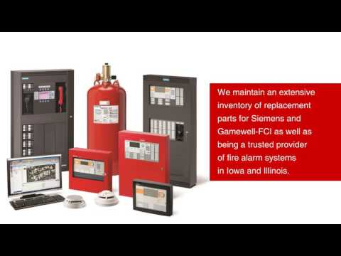 Commercial & Industrial Fire Alarm Systems In Illinois And Iowa