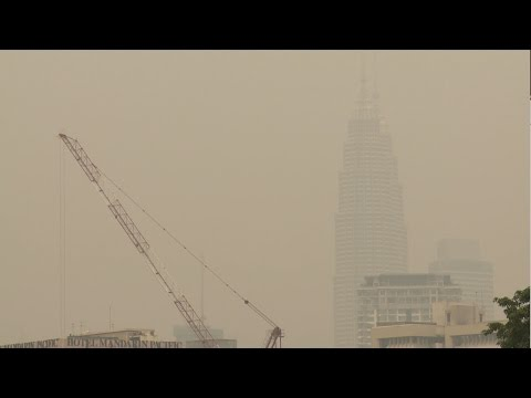 Haze hitting Malaysia