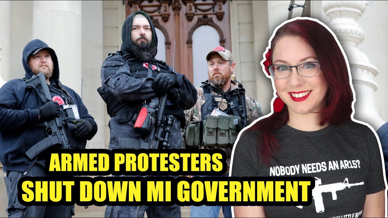 Armed Protesters Shut Down MI Government