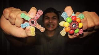 DIY EDIBLE GUMMY FIDGET SPINNER! | HOW TO MAKE A HAND/FIDGET SPINNER OUT OF GUMMY CANDY