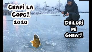 Ice fishing for carp 2020. How to catch carp on ice fishing.