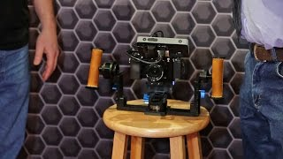 NAB 2015: Letus Helix Jr. Mini 3 Axis Camera Stabilizer