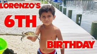 LORENZO'S SIXTH BIRTHDAY PARTY   SNOOKI'S VLOGS