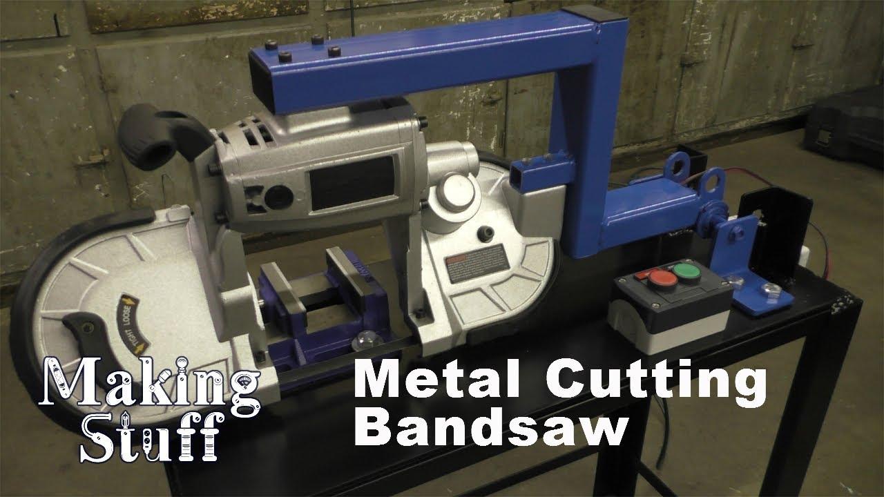 Diy Metal Cutting Horizontal Vertical Band Saw Youtube