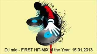 DJ mle - FiRST HiT MiX of the Year, 15.01.2013 (The Best of Vocal House Radio Hits)