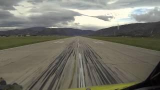 Landing in Mostar