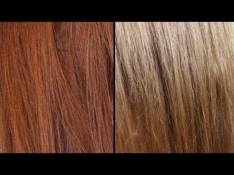 Como matizar los tonos naranjas en casa basta de rubio doovi - Como matizar el pelo rubio en casa ...