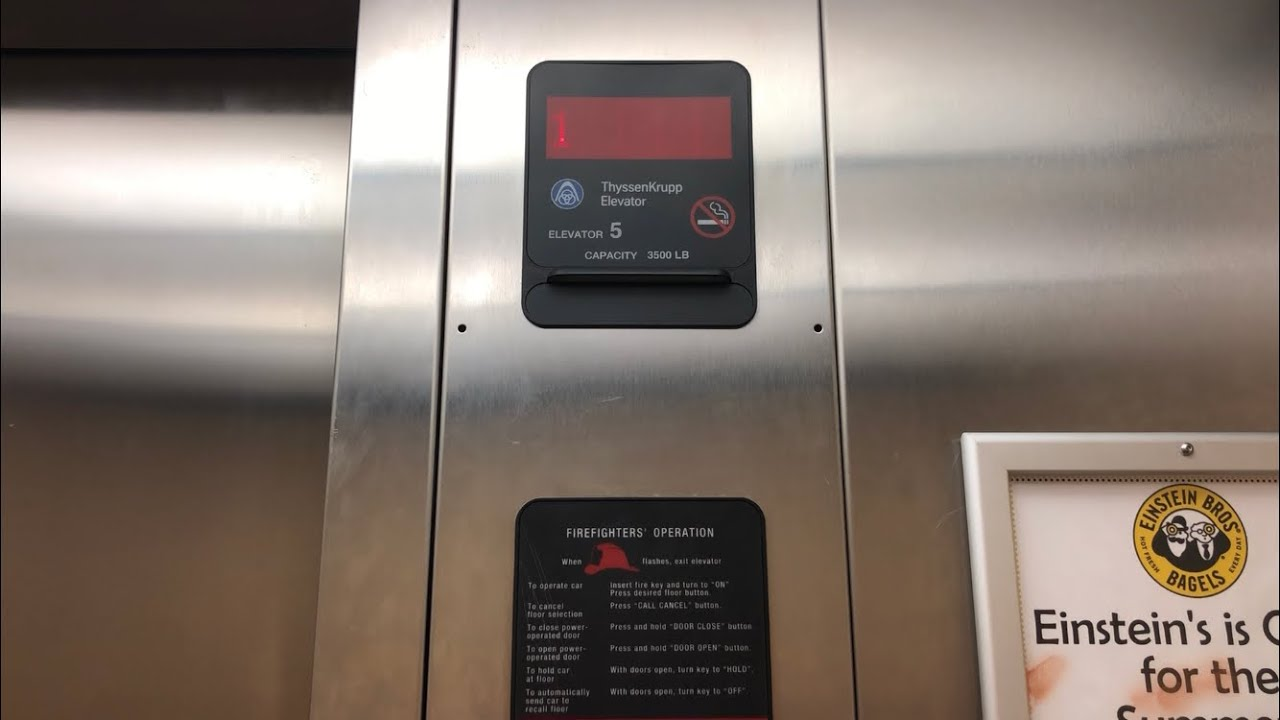 ThyssenKrupp Elevators at William Paterson University in