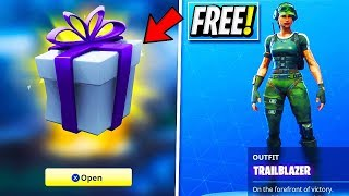 "NEW FREE ""Gifts"" now in Fortnite! FREE Fortnite Battle Royale Skins!"