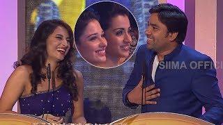 Mirchi Shiva Making Fun At South Indian Awards Show