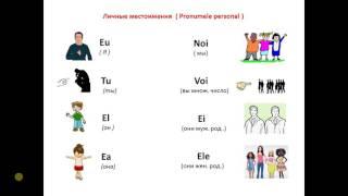 Личные местоимения на румынском языке