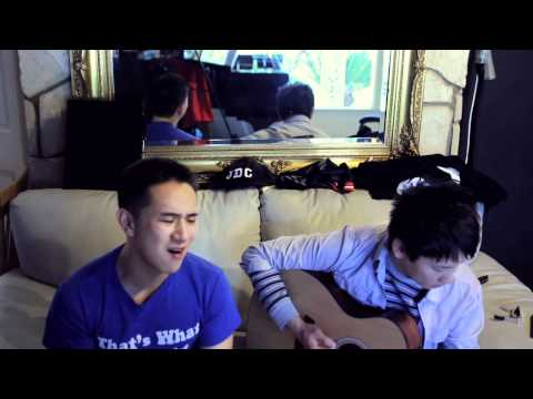 Talking To The Moon (Acoustic Cover) Jason Chen x Gerald Ko