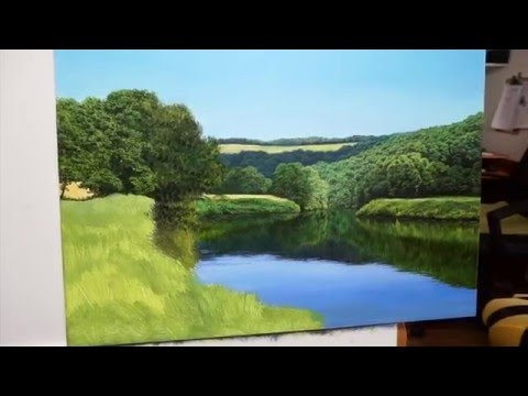 "Oil on Panel ""Painting the River Wye"" - With Michael James Smith"