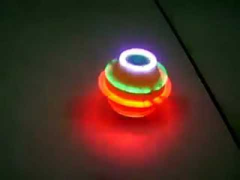 Angry Birds Musical Spinning Top  - Music and Lights Toy for Kids