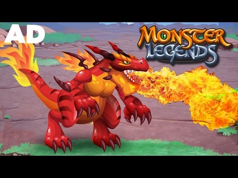 Monster Legends - DRAGONS!!