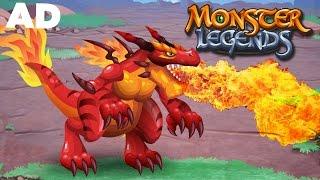 Monster Legends - DRAGONS!!