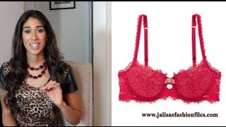 The RIGHT Bras for YOUR Body Shape: How to Select the Perfect Bra | Jalisa's Fashion Files