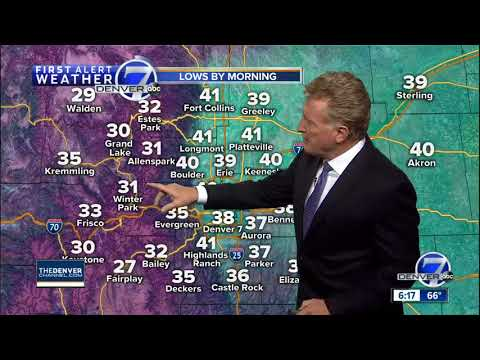 Cooler across Denver on Thursday, but in the 70s and even 80s this weekend