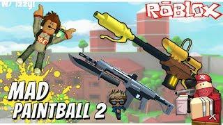 ROBLOX Mad Paintball 2 - France L'ÉTÉ ET L'ACTUALITÉ W/ Izzy!! (VIEILLE VIDÉO)
