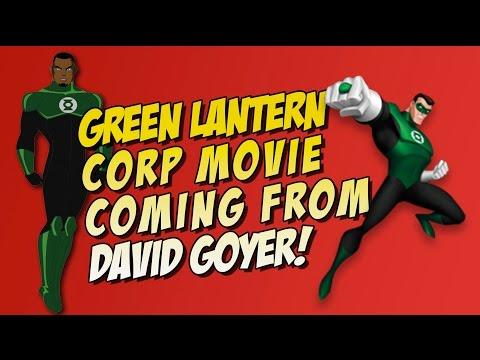 Green Lantern Corp Movie From David Goyer
