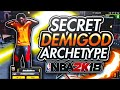 BEST SECRET DUAL ARCHETYPE BUILD THAT NOBODY KNOWS.... NBA 2K18 (107% CHEESE!!)