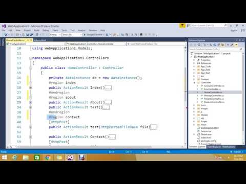 Using #region to Improve Code Readability c# – see how