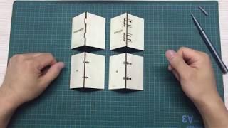3 Вида соединений деталей вырезанных на лазерном станке [Урок #1]