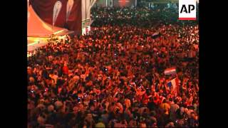 Croatian, Turkish fans celebrate goals before penalties
