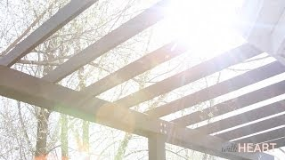 How To Build A Pergola | Withheart