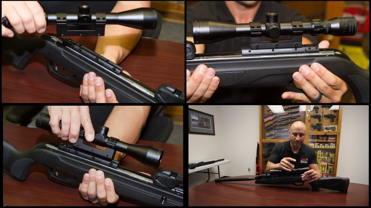 How To Correctly Mount A Scope On The Gamo Swarm Maxxim