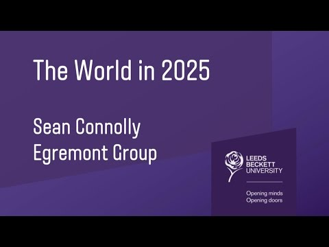 Sean Connolly: The World in 2025
