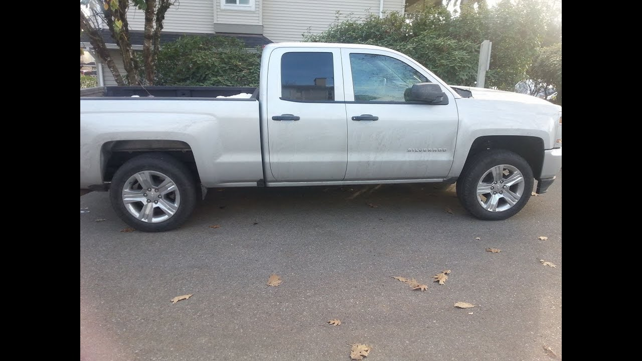 how to easily install a 2 inch leveling kit in a chevy silverado