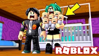 WE ADOPT THE MOST TRAVVE BABIES of ROBLOX 😱