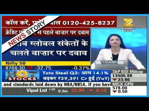 Hot Stocks   Federal Bank working on 83.05 woih drop of 1.13%
