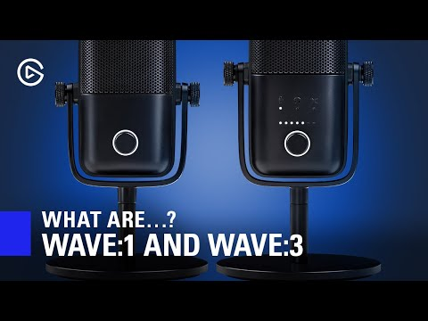 Introducing Elgato Wave:1 and Wave:3 - Product Overview