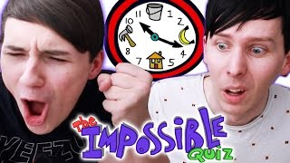 Dan and Phil play THE IMPOSSIBLE QUIZ!
